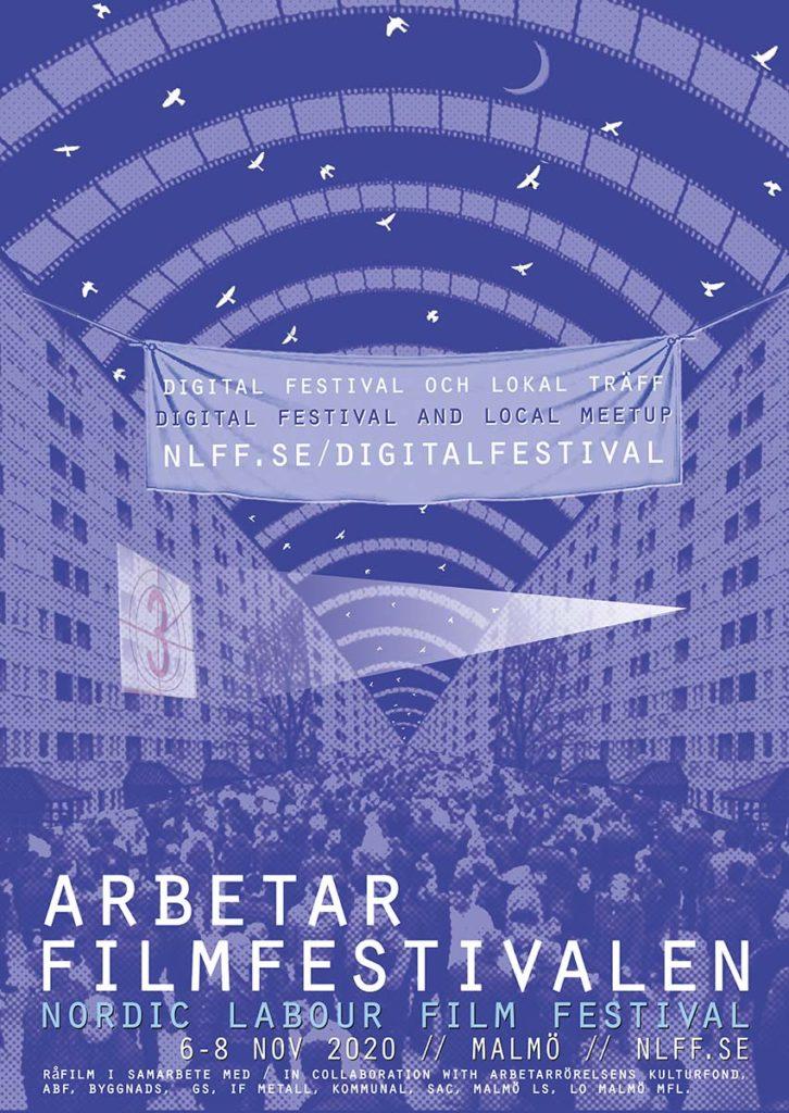 affisch till NLFF Arbetarfilmfestivalen 2020